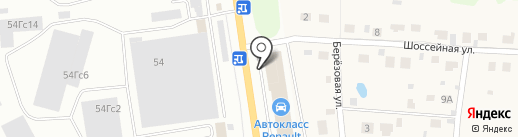 Автокласс на карте Тулы