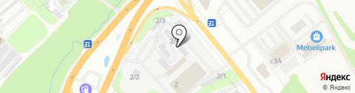 Мебельная компания на карте Тулы