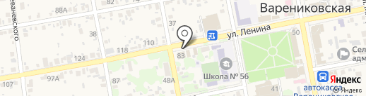 Ветеринарная аптека на карте Варениковской
