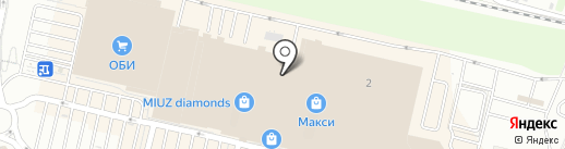O`stin на карте Тулы