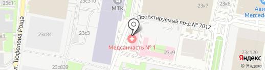 Доктор Тай на карте Москвы