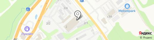 Новый Арматурный Завод на карте Тулы