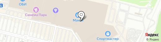 Рив Гош на карте Тулы