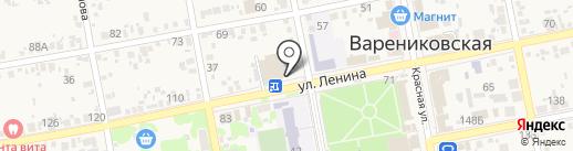 Хлеб на карте Варениковской