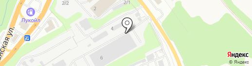 Тульский Промышленный Завод на карте Тулы