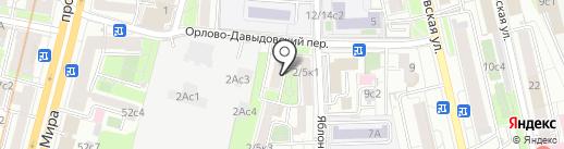 Страховой брокер XXI век на карте Москвы
