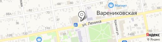 одежДАобувь на карте Варениковской