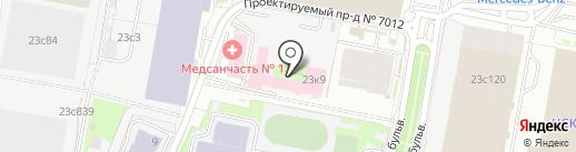 Центр рейки и психологии Светланы Качевской на карте Москвы