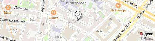 Ресничные феи на карте Москвы
