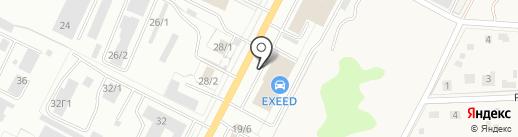 Автокласс Fiat Professional на карте Тулы