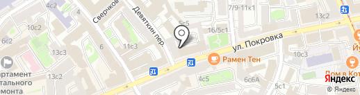Панда Хука на карте Москвы