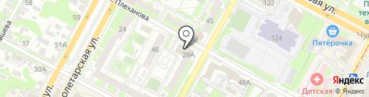 Следственное Управление УМВД России по Тульской области на карте Тулы