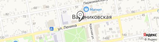 Всё для вас на карте Варениковской