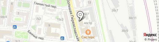 АН Инжиниринг на карте Москвы