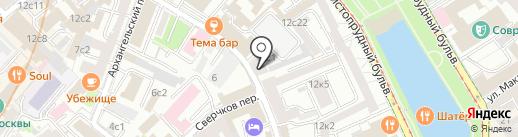 Aleksey G на карте Москвы