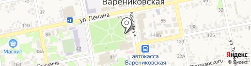 Де люкс на карте Варениковской