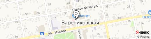 Сад огород на карте Варениковской
