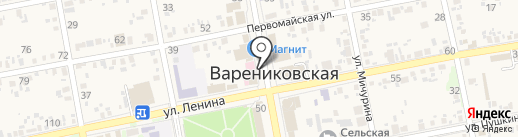 Центральная аптека на карте Варениковской