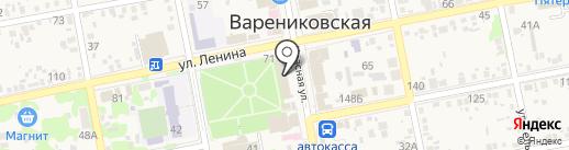 Vitta на карте Варениковской