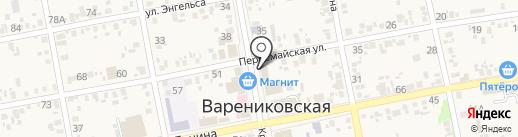 Парикмахерская на карте Варениковской