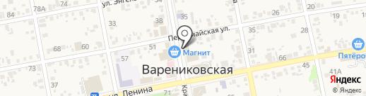 Интерьер на карте Варениковской