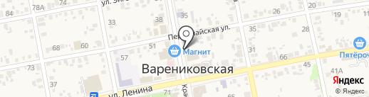 Ювелирная мастерская на карте Варениковской