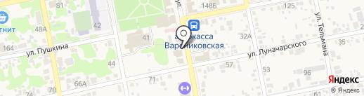 Домашний хлеб на карте Варениковской