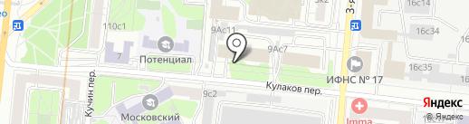Sintelestis на карте Москвы