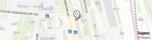 Башмачок на карте Москвы