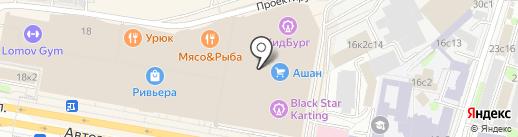 MOD Мебель на карте Москвы