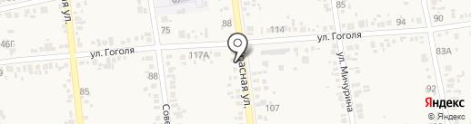Автомастерская на карте Варениковской