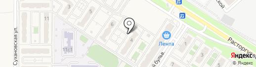 Государев дом на карте Лопатино