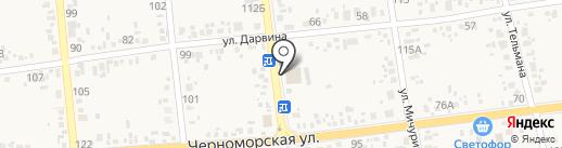 Местерок на карте Варениковской