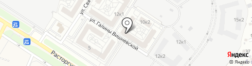 Видный город на карте Видного