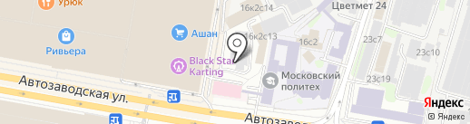 77volvo на карте Москвы