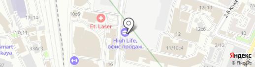От Стефано на карте Москвы
