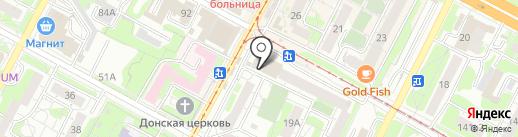 Магазин фастфудной продукции на карте Тулы