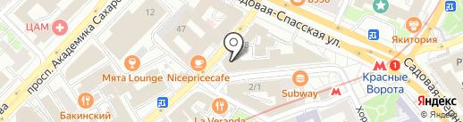 Серёгин и партнёры на карте Москвы