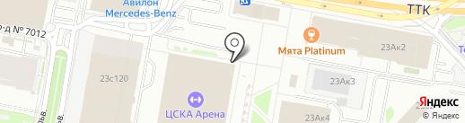 Итальяно Спешелти на карте Москвы