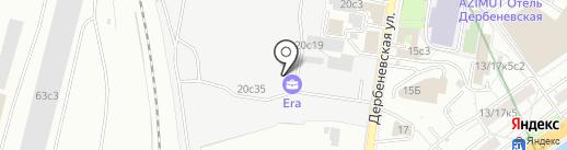 Эстемарко на карте Москвы