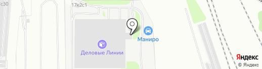 Тэнси-Техно, ЗАО на карте Москвы
