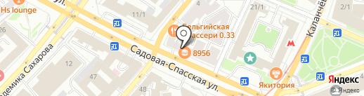 Moscow Time на карте Москвы