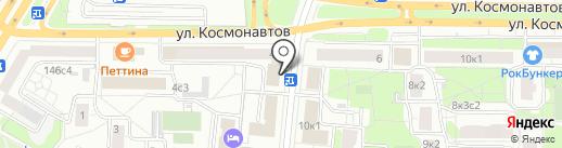 DeBaTex на карте Москвы