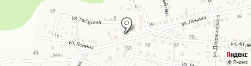 Александр на карте Новороссийска