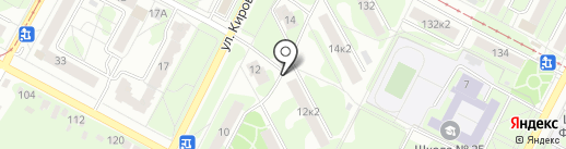 Ока на карте Тулы