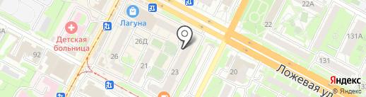 Кортеж71 на карте Тулы