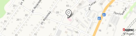 Городская поликлиника №7 на карте Новороссийска