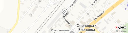 ОЩАДБАНК, ПАО на карте Оленовки