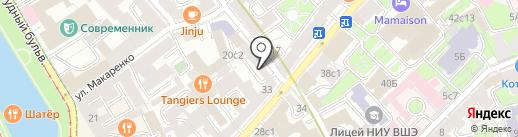 НТЦ АтомПромТехнология на карте Москвы