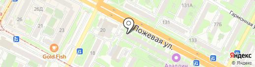 О-ла-ла на карте Тулы